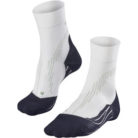 Falke Stabilizing Cool - Calcetines Running Mujer - blanco